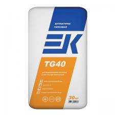 Штукатурка гипс EK TG40 белая 5/10кг.