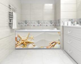 Экран для ванны Ультра легкий АРТ 1,7 метра №01