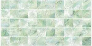 Панель ПВХ Артдекарт 0,964х0,484м Плитка перламутровая зеленая