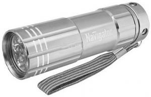 Фонарь Navigator NPT-CM07 3AAA 9LED алюминий