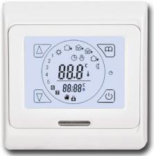 Терморегулятор Eastec E91.716 (3,5кВт) скр.уст. сенсорный белый