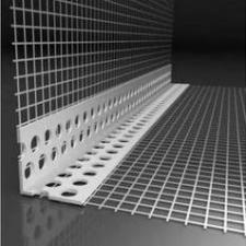 Уголок перфорированный 23х23мм 3м. с сеткой 10х15
