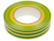 Изолента 19мм х 20м Klebebander желто-зеленая