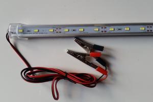 Переноска авто, кабель1,5м 24LED 10Вт 12В крокодилы