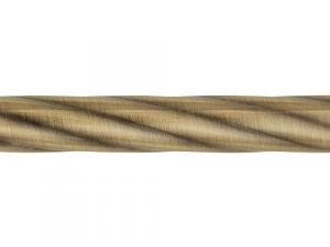 Карниз кованый Твист ф16 3,2м 2-х рядн.