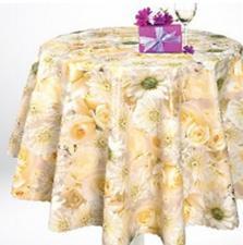 Клеенка стол. Флориста Желтые цветы 148-00 шир.1,4м (пог.м.)