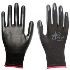 Перчатки черные стрейч №328