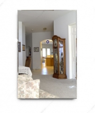 Зеркало прямоугольник 600х372