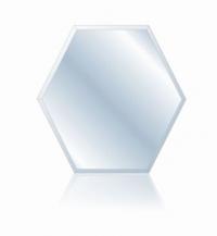 Зеркало Зонтик 563х650 фацет