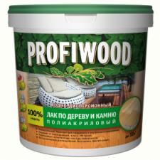 Лак для дерева и камня Profiwood глянец