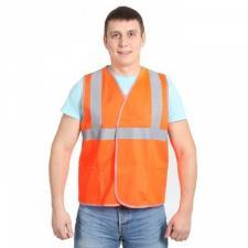 Жилет сигнальный флуорисцентный оранжевый