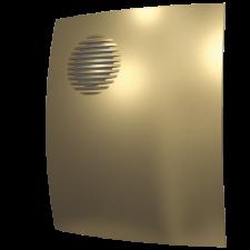 Вентилятор Parus 4C CHAMPAGNE осевой с обратным клапаном D100