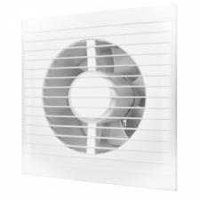 Вентилятор A-5SC D125мм с антимоскитной сеткой и обр. клапаном