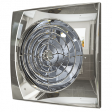 Вентилятор AURA 4C Chrom D100 обратный клапан