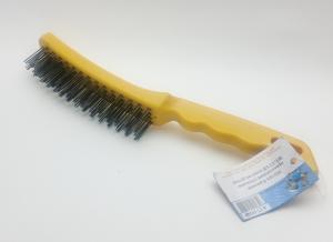 Щетка по металлу пластик. ручка 4-17-10149