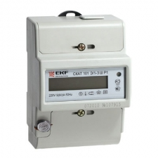 Счетчик электрической энергии EKF СКАТ 101Э/1-3 Ш Р1 5(60)А
