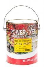 Краска водоэмульсионная POWERTEX EXTERIOR для наружных и внутр. работ