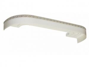Карниз для штор Галант NEO 2,0 метра 2-х рядн.