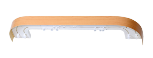 Карниз Цезарь de luxe стандарт 2,0 м. 2-х рядн.