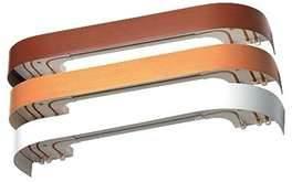 Карниз для штор Цезарь de luxe стандарт 2,4 м. 2-х рядн.