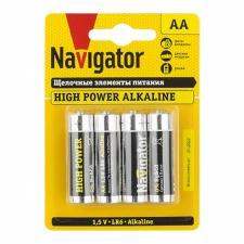 Батарейка Navigator LR06 Alkaline (1шт)