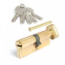 Цилиндровый механизм Апекс SC-M80-ZC-G перфокарта с верт. золото