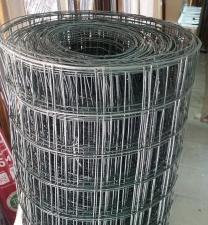 Сетка заборная сварная с ПВХ покрытием 1,8х30м ячейка 60х60х1,8мм