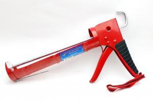 Пистолет для герметиков полукорпусной красный