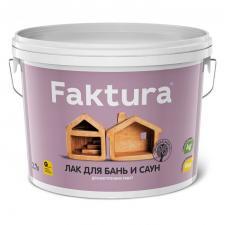 Лак Faktura для бань и саун