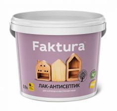 Лак-антисептик Faktura 0,9л. бесцветный