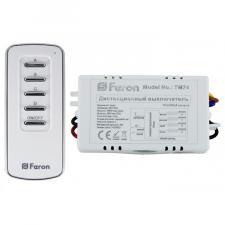 Дистанционный выключатель ТМ74 с пультом ДУ 4 канала 1000W
