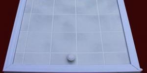 Экран для ванны 1,68м. RUKUS серая керамика