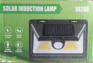 Cветильник на солнечной батарее 20Вт с датчиком света. водонепр. настен.