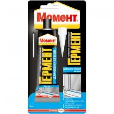 """Герметик-силикон """"Гермент"""" для окон и стекол 85мл белый"""