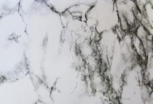 Обои, пленка самоклеющаяся 45см х8м 3958 мрамор бело-черный