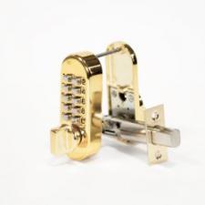 Замок кодовый Нора-М 600 бронза/золото 900243