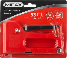 Степлер Mirax 3142 пластик тип скоб 53 4-8мм