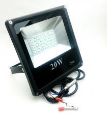 Прожектор LED 20W 12V крокодилы